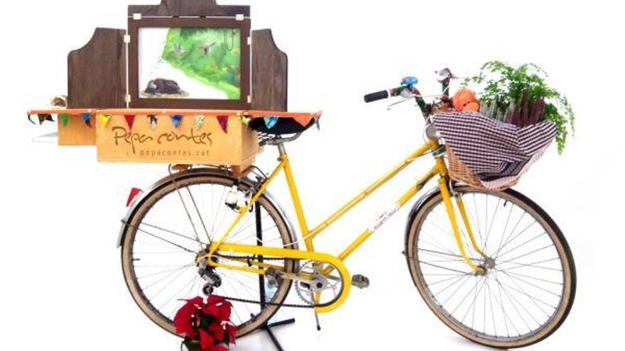 Kamishibai sobre rodes, amb Pepa Contes