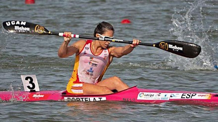Teresa Portela, con la grandeza por costumbre, obtiene el bronce