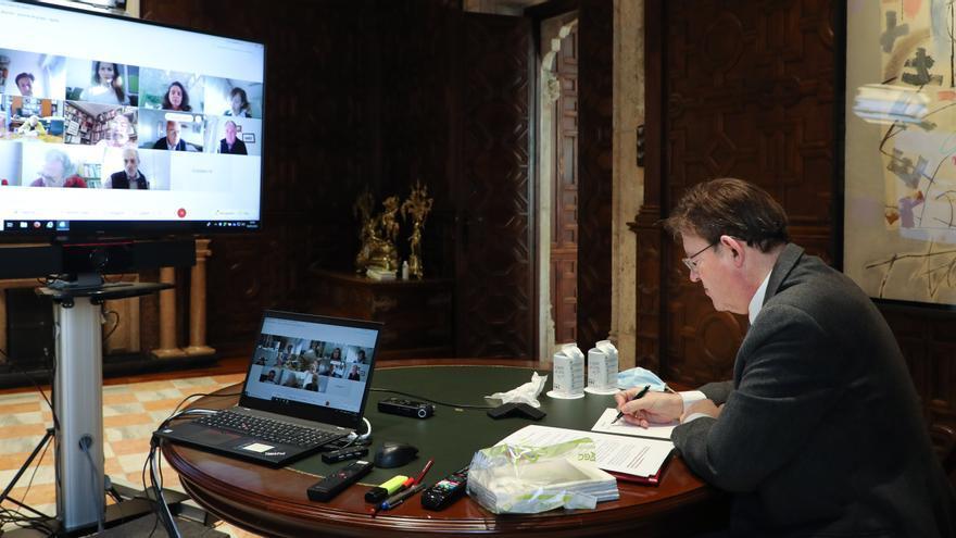 El comité de expertos de Puig avala la prórroga de las restricciones en la Comunitat Valenciana
