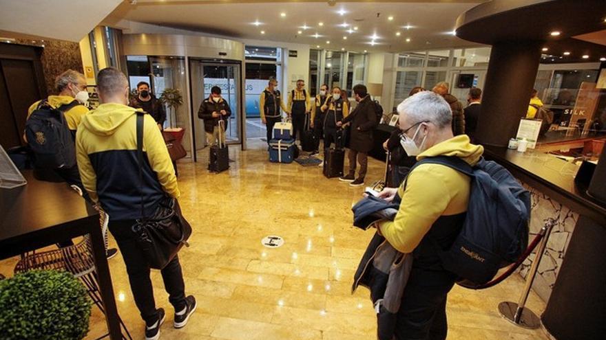 Los castellonenses esperan en el Silken Atlántida