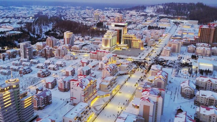 Samjiyon, la nueva ciudad creada por Kim Jong Un