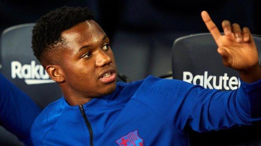 Ansu Fati es convocado con la sub 21