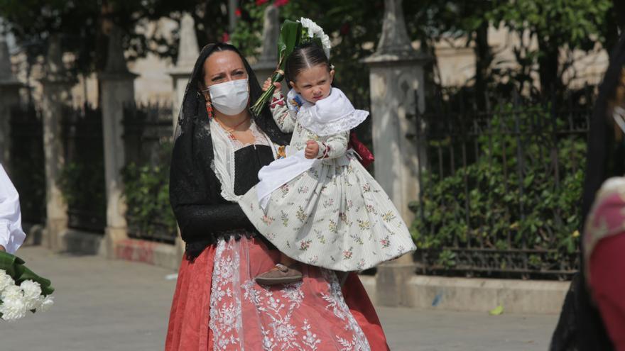 Búscate en el segundo día de Ofrenda por las calles Quart y Caballeros: todas las fotos