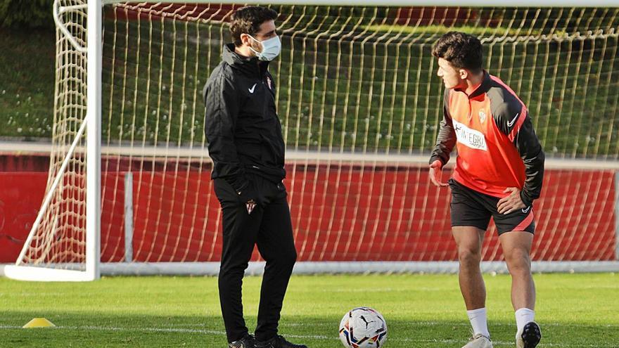 """Gallego inicia el """"casting"""" en el Sporting"""