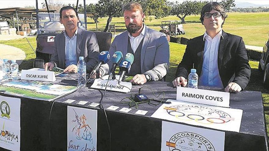Sant Jordi tendrá una pionera academia internacional de golf