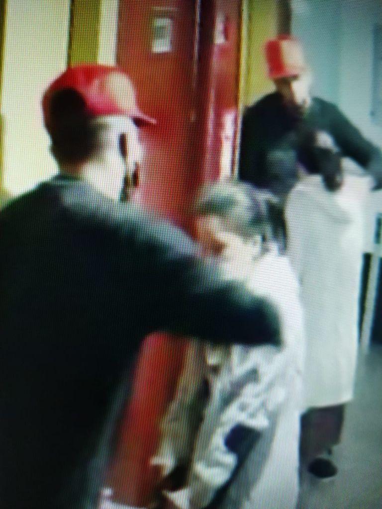 Un momento del presunto episodio de abusos sexuales a una joven en Mesa y López
