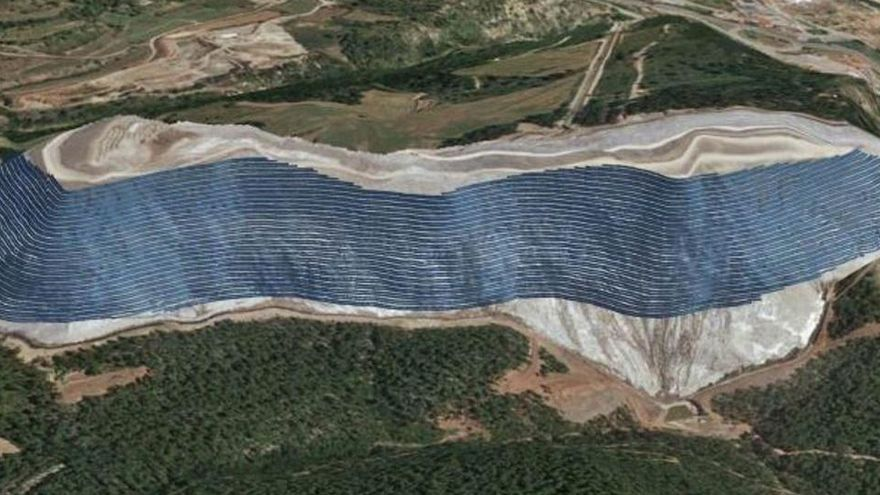 El Govern es compromet a treballar per «fer viable» el parc solar al runam del Cogulló