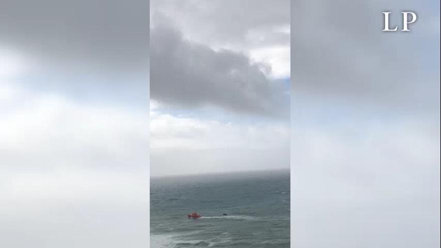 Un inmigrante fallecido en una patera llegada a Gran Canaria