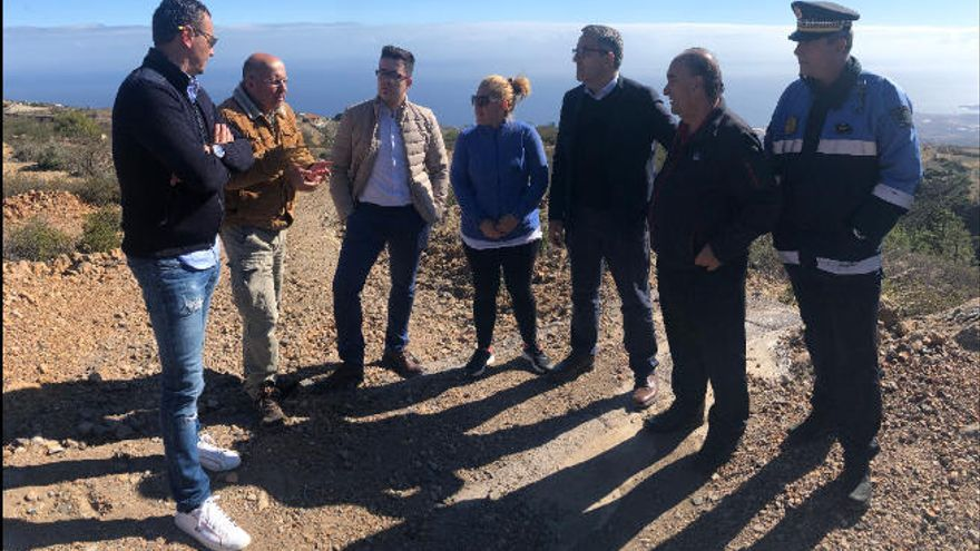 Fuente Nueva de Arico tendrá luz, agua potable y accesos rehabilitados