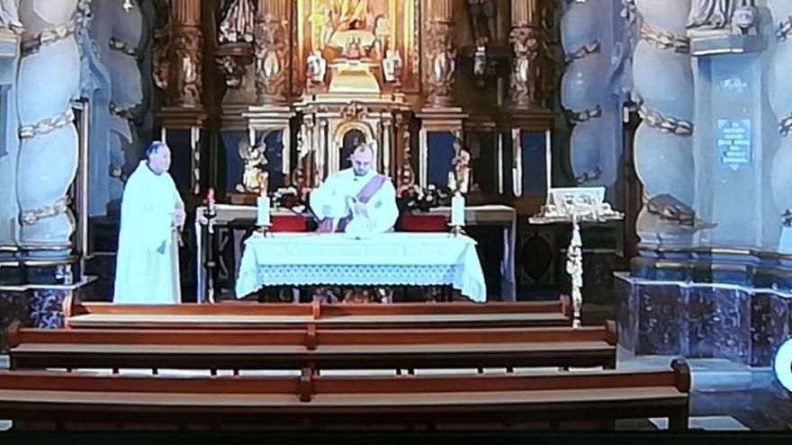 À Punt volverá a emitir la misa dominical a partir de este fin de semana