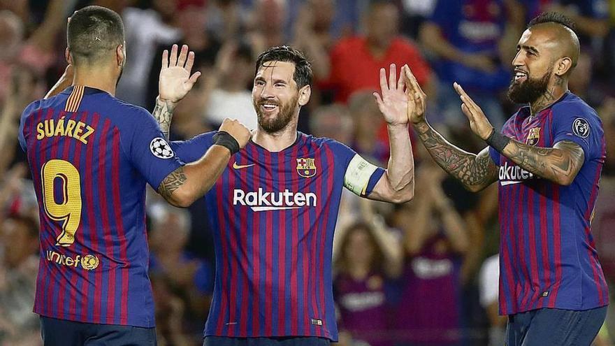 El Barcelona arranca a toda máquina