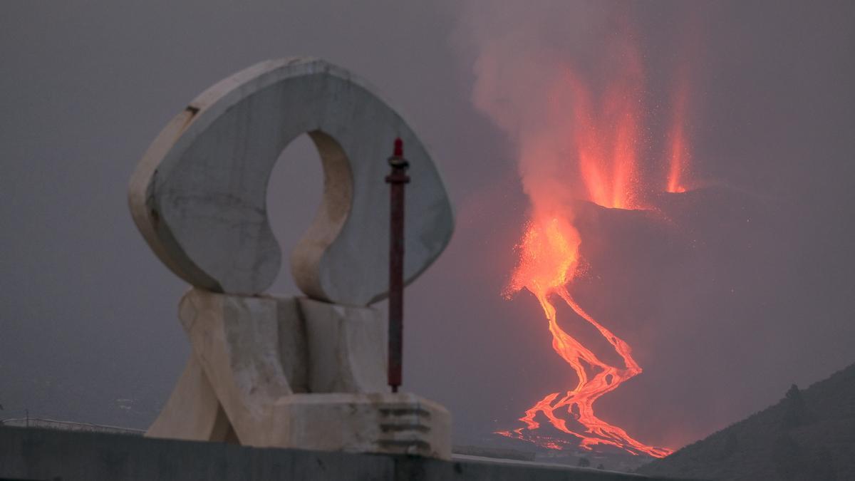 Las imágenes más impactantes de la erupción de La Palma.