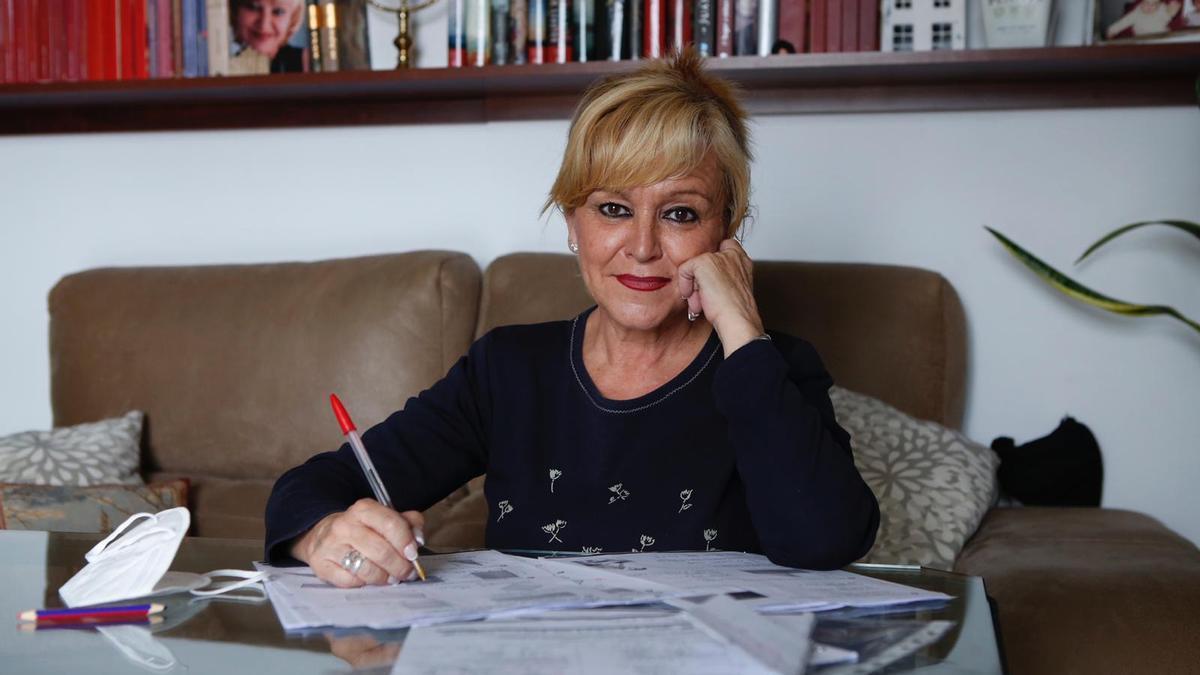 La profesora Ana Zurita, del colegio Hernán Ruiz, tiene 57 años y aún no tiene puesta ninguna dosis de la vacuna frente al covid.