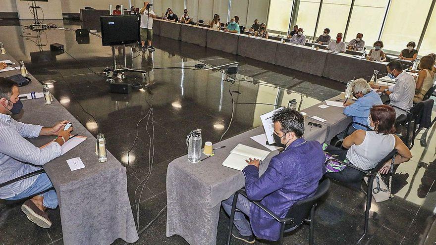 Palacio de Congresos: Diputación 1 - Elx 0