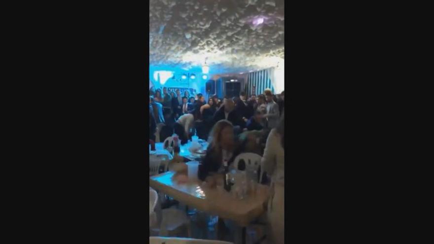 Brutal pelea en la caseta de CCOO en la Feria de Abril