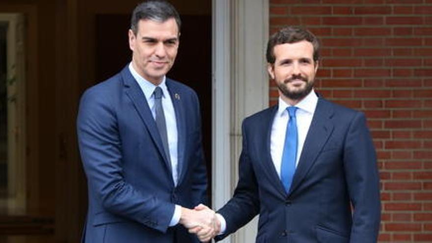 La pujada del PP escurça la distància amb el PSOE mentre que Cs registra una davallada de gairebé 3 punts