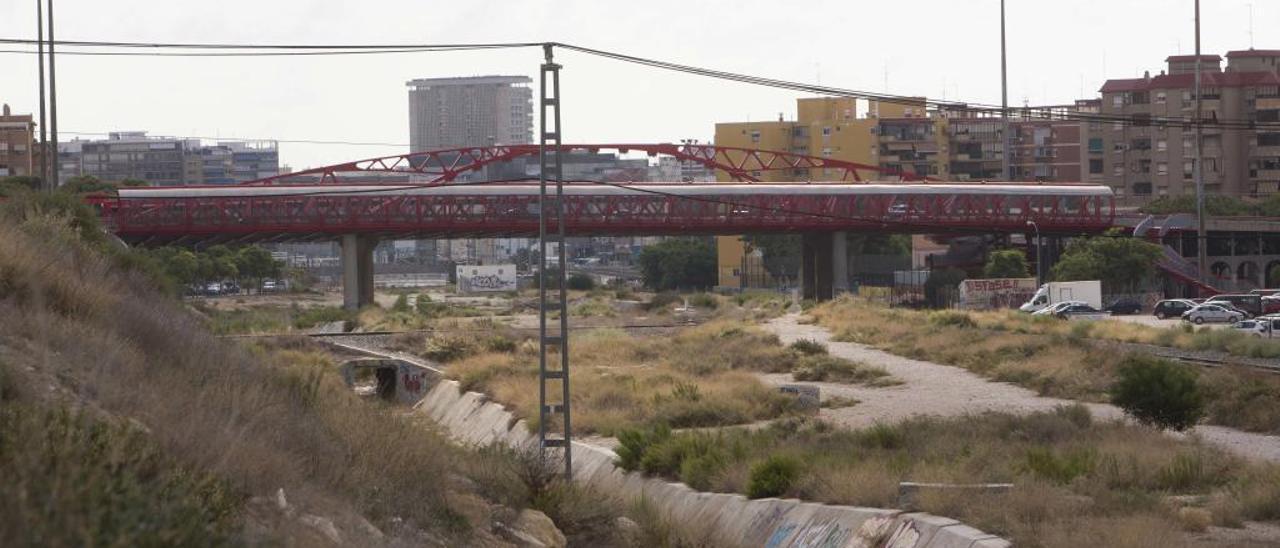 La zona del Puente Rojo