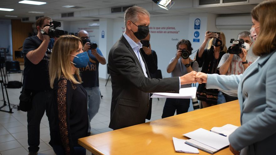 Linares se presenta a la reelección con el objetivo de recuperar el Cabildo de Tenerife