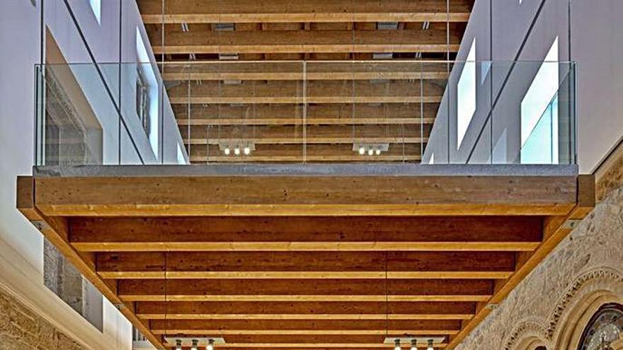 La rehabilitación de San Francisco, premio del Colegio de Arquitectos