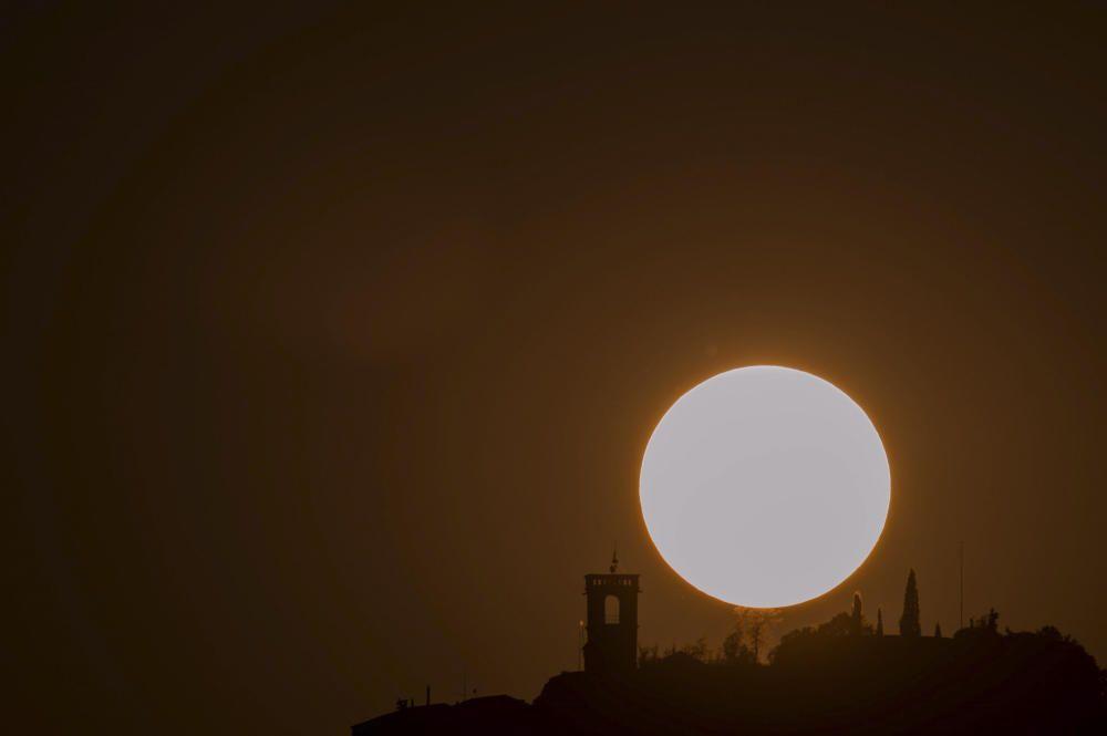 Posta de sol a Castelladral.