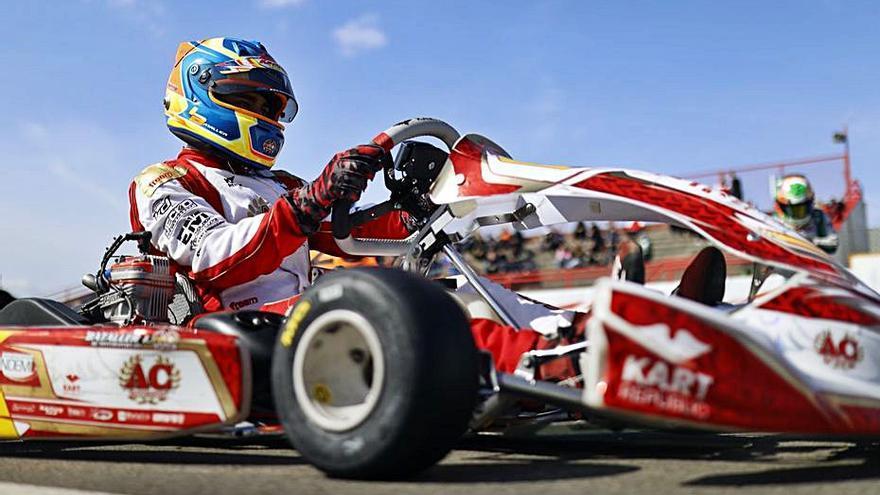 Iván Bataller queda sexto en la prueba inaugural del Europeo X30 en Bélgica