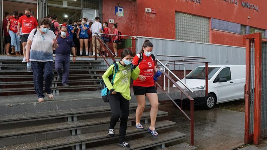El CBM, de Fátima a Valdeolleros por las goteras en pleno partido