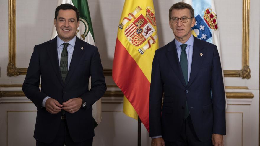 Galicia y Andalucía acuerdan principios comunes para reformar la financiación