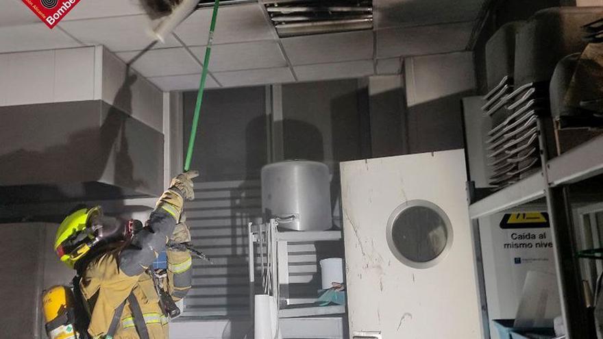 Incendio en la cocina del Hospital del Vinalopó de Elche
