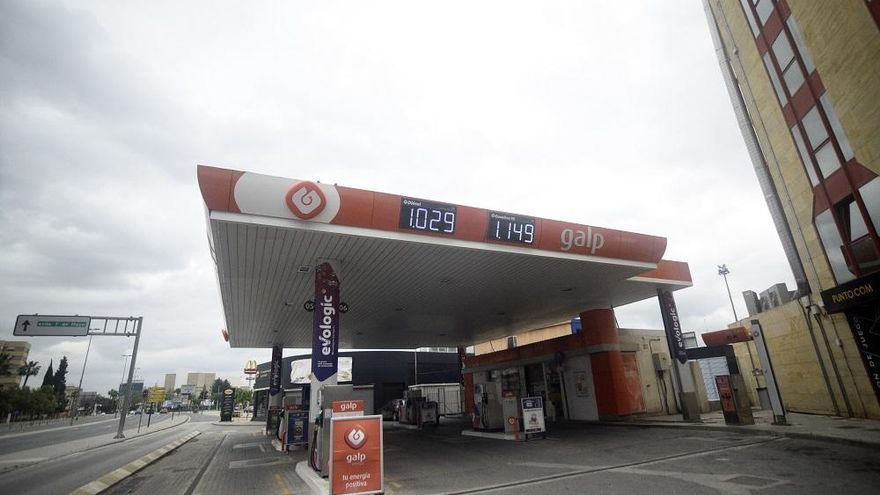 Atraca dos gasolineras en Murcia en menos de siete horas