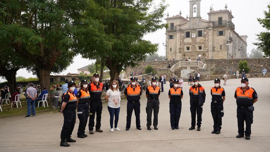 Protección Civil-Emerxencias Lalín realiza un promedio de seis intervenciones diarias