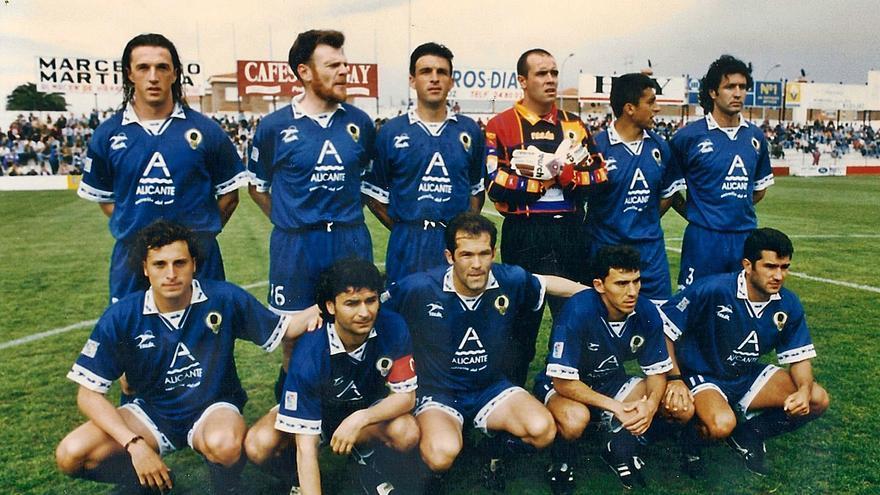 25 años del mítico gol de Sigüenza en el ascenso del Hércules a Primera en Badajoz