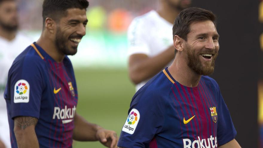 Homenaje con goles del Barcelona al Chapecoense
