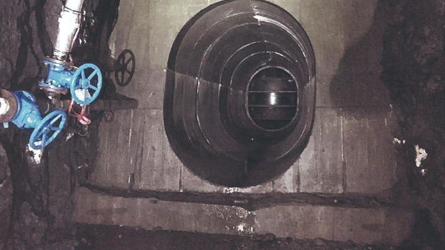 Aguas ejecutará nuevos tranques en las galerías para evitar pérdidas