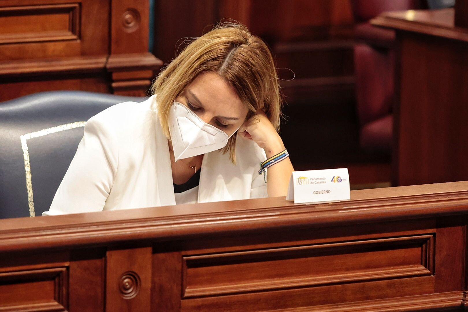 Pleno del Parlamento de Canarias