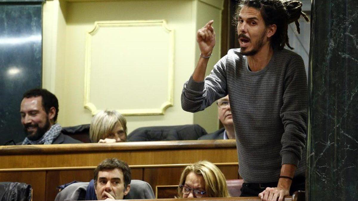El Congreso aprueba retirar su inmunidad a Alberto Rodríguez