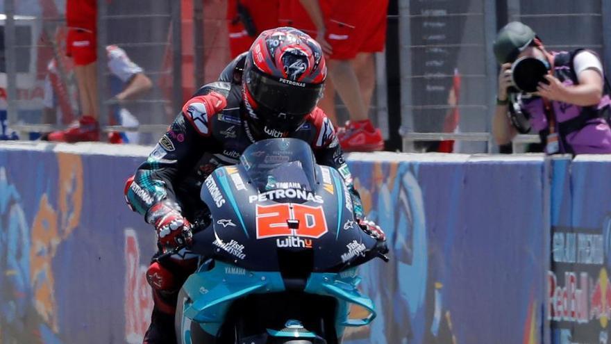 Quartararo marca el mejor tiempo en los libres de Brno