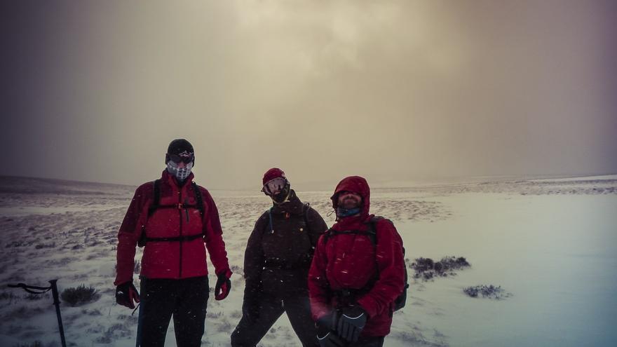 Trekking en raquetas de nieve