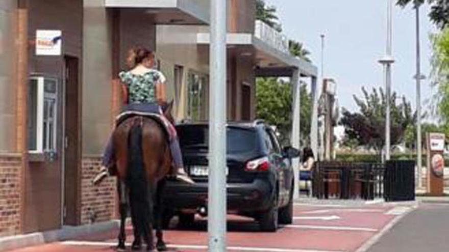 """""""Un Whopper para mí y agua para mi caballo"""""""