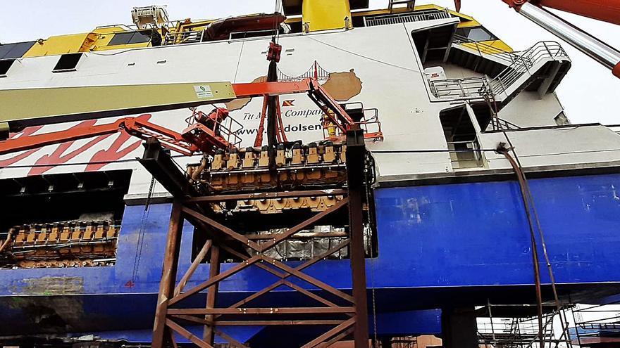 Los motores del 'Bentago Express'