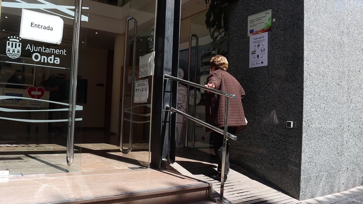 El Ayuntamiento de Onda impulsa actuaciones en la Casa de la Cultura