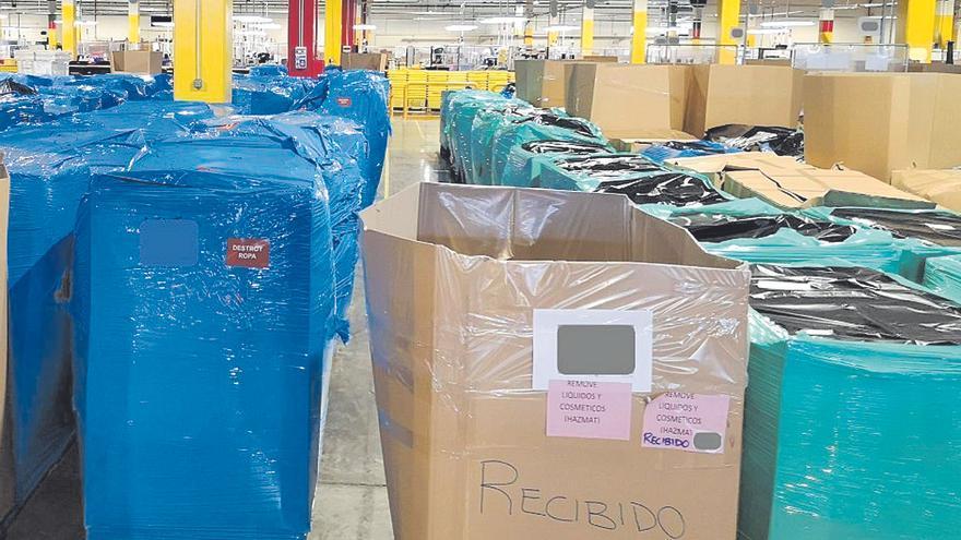 Amazon destruye cada día miles de productos sin vender