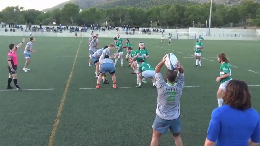 El Babarians Calvià de rugby logra ante el Valencia su segundo triunfo