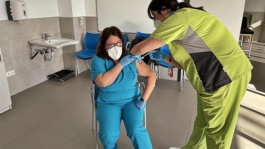La vacuna llega a la residencia de discapacitados de Sueca
