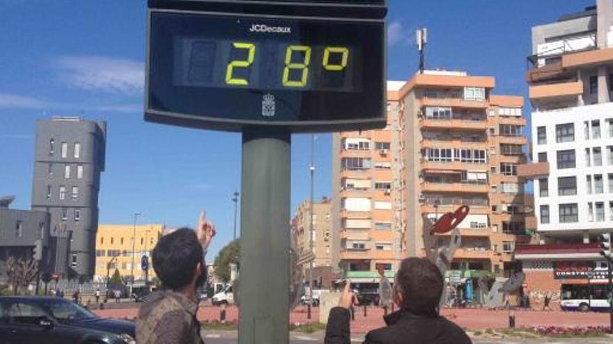 Los termómetros rozarán los 30 grados hoy en la Región
