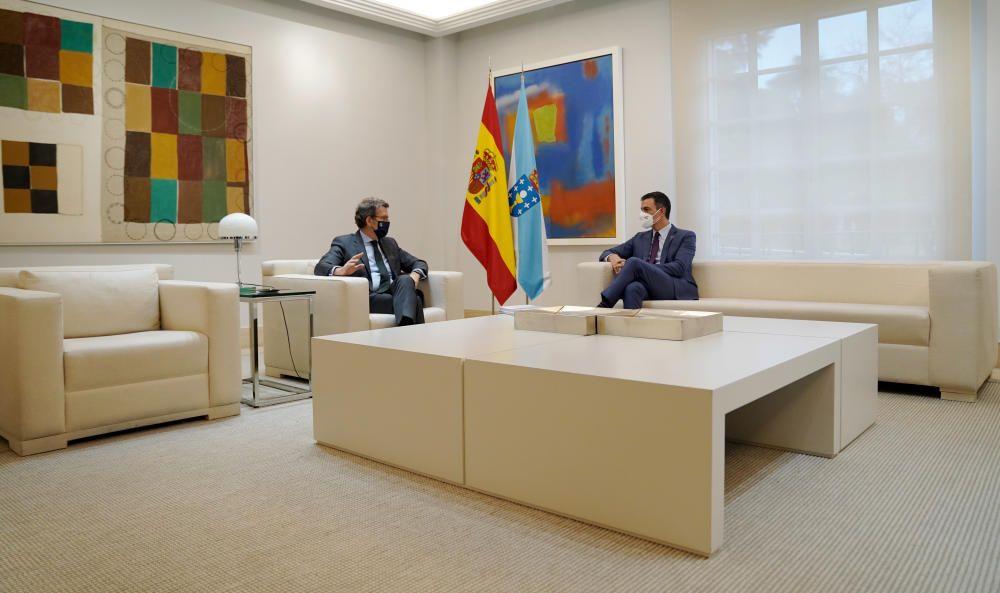 Encuentro entre Sánchez y Núñez Feijóo