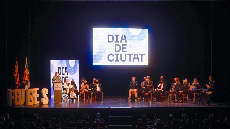 Figueres lliura els reconeixements de ciutat dels anys 2020 i 2021