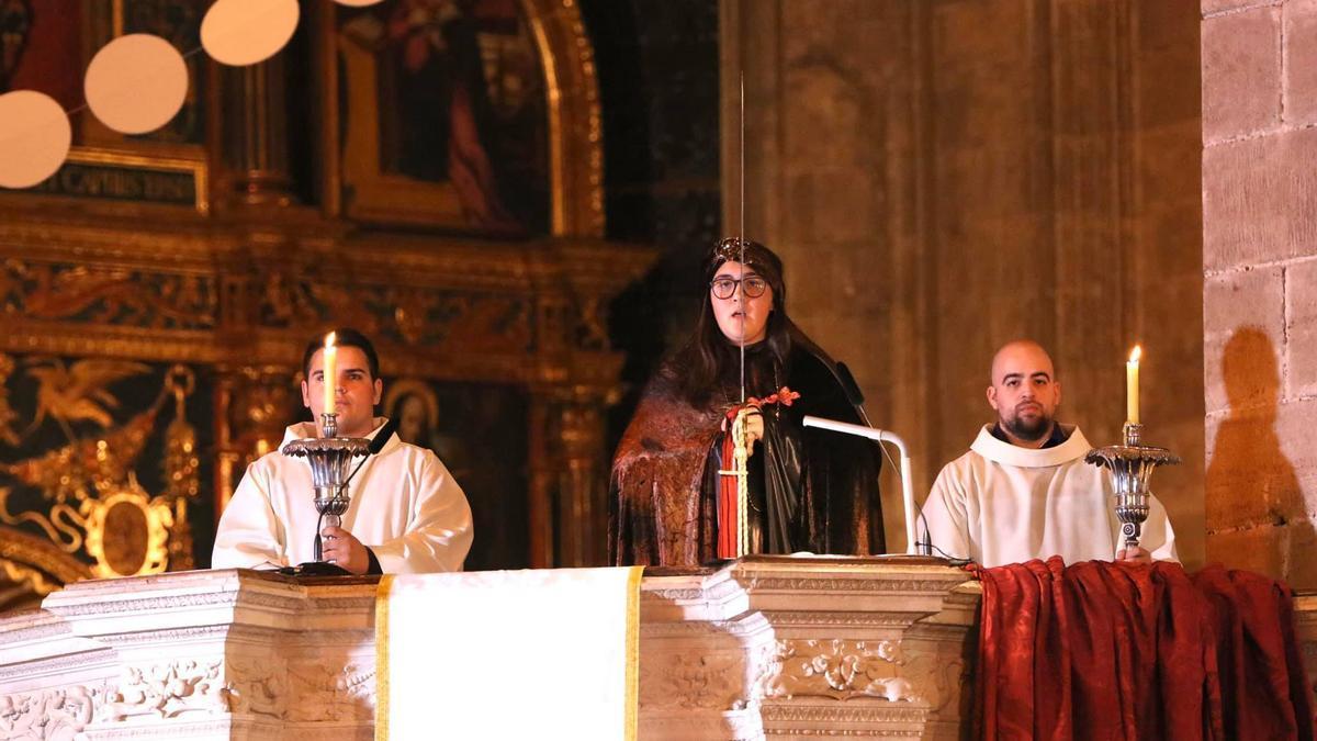 Cant de la Sibi·la en la Catedral de Mallorca