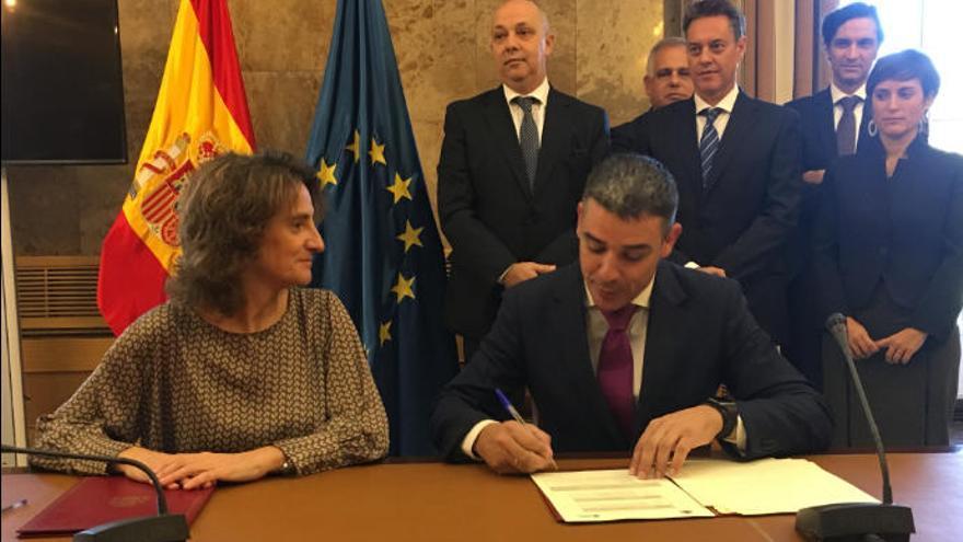 Canarias garantiza 915 millones de euros para obras hidráulicas