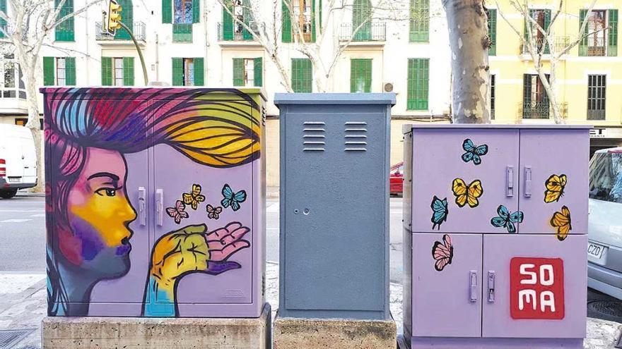 Santa Payesa ya tiene su 'Ruta en femenino' de grafitis