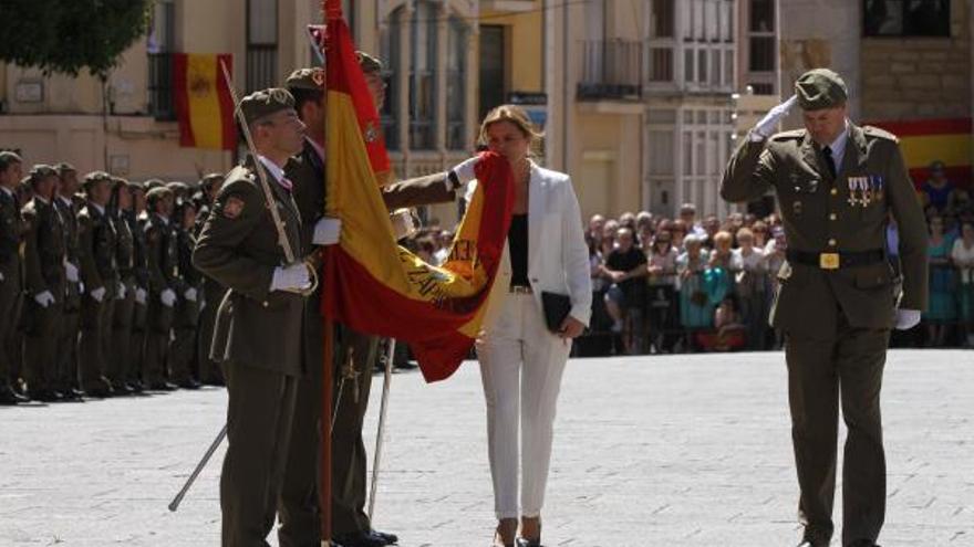 Los zamoranos podrán jurar bandera el 7 de junio en La Marina